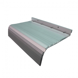 Aluminum apron way covers